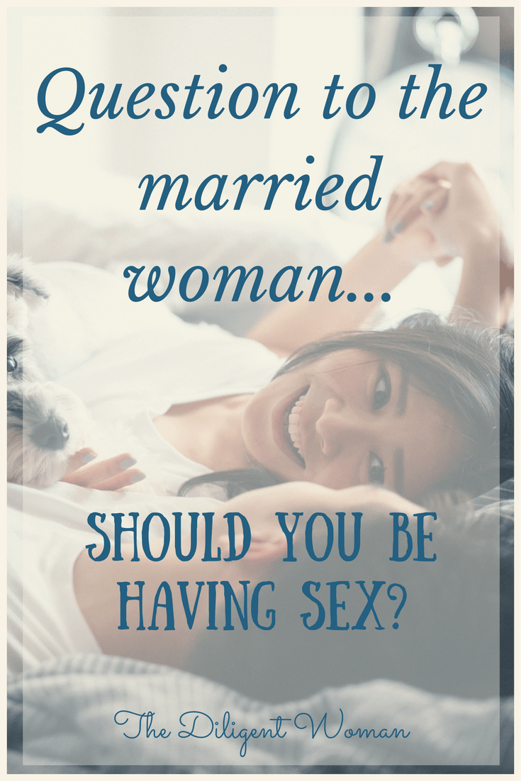 Should you be having sex? Sex is a topic talked about in many circles. But what attitude does God say we should have about sex? How important should it be in our marriages? Join The Diligent Woman in seeking what God has to say about this controversial topic.