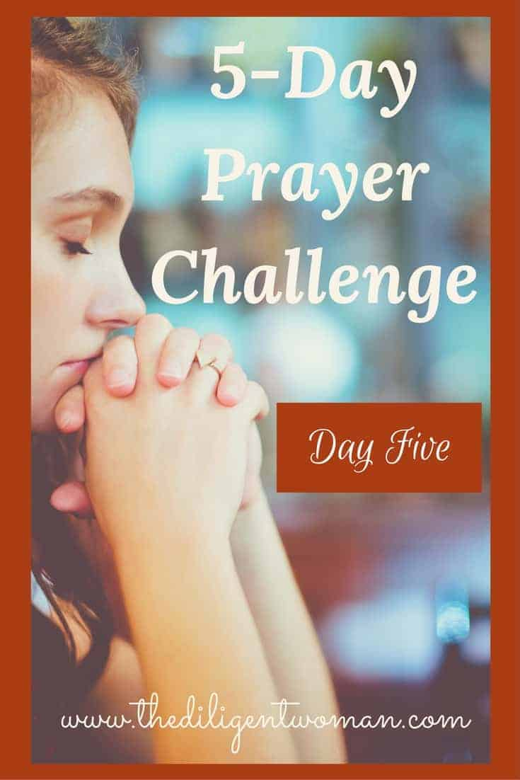Praying for your husband and marriage. The 5-Day Prayer Challenge will encourage you and bring your confidence in your prayer life. Take the challenge and learn how easy prayer should be, how to know God will hear your prayers, and how to have an endless supply of things to say.